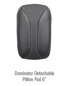 Dominator Detachable Pillion Pad 6\