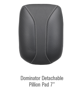 Dominator Detachable Pillion Pad 7\